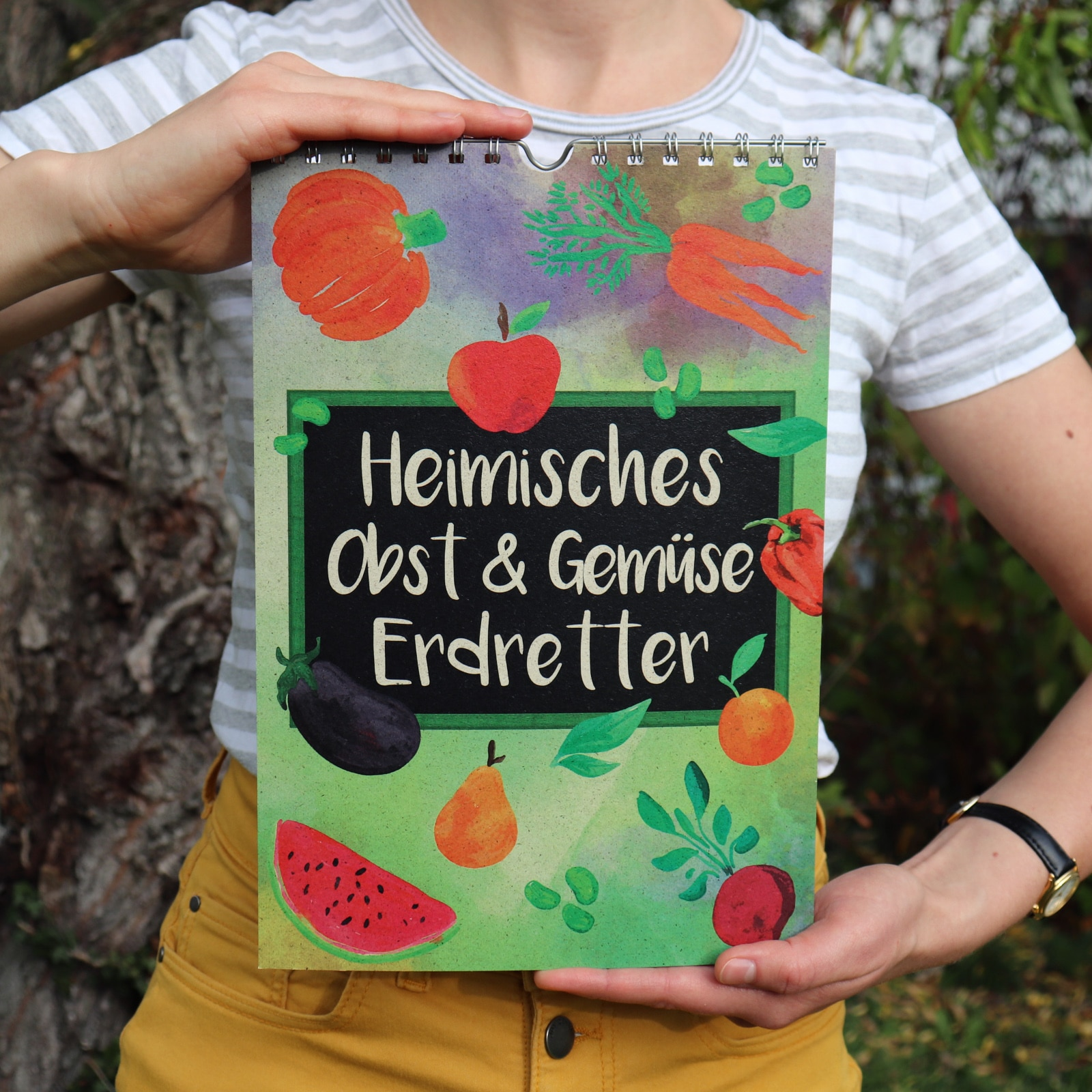 Saisonkalender_A4 Obst und Gemüse Frontbild